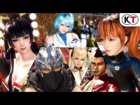 DEAD OR ALIVE 6 - Combat and Features Trailer