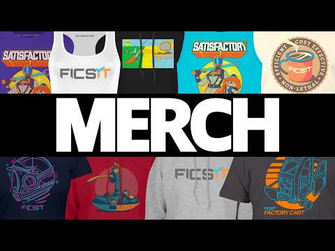 Official Satisfactory MERCH!