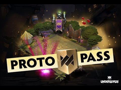 Dota Underlords - First Ever Battlepass (Proto Pass)