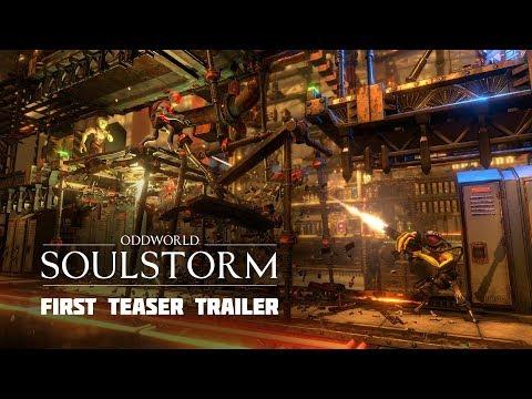 Oddworld: Soulstorm first Teaser Trailer featuring Gameplay