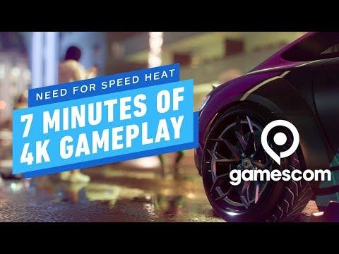 7 Minutes of Need for Speed Heat 4K Gameplay - Gamescom 2019