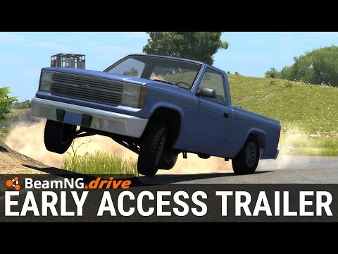 BeamNG.Drive - Steam Early Access Trailer 2015