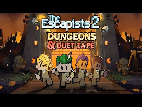 "The Escapists 2 - ""Dungeons & Duct Tape"" Launch Trailer (Steam, PS4, Xbox One)"