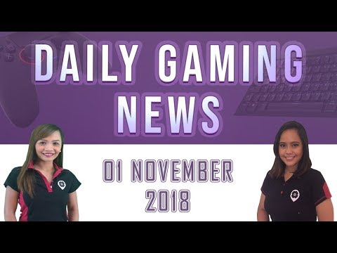 AKS Gaming News / Part 2 : 01/11/2018