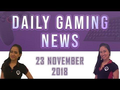 AKS Gaming News / Part 1 : 23/11/2018