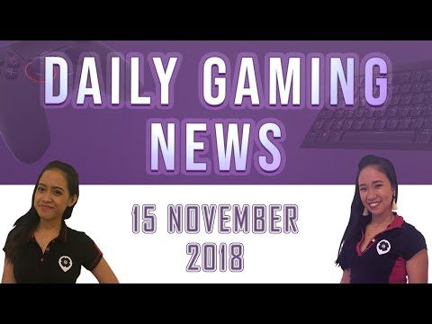 AKS Gaming News / Part 1 : 15/11/2018