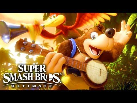 Super Smash Bros. Ultimate – Banjo-Kazooie Reveal Trailer   E3 2019