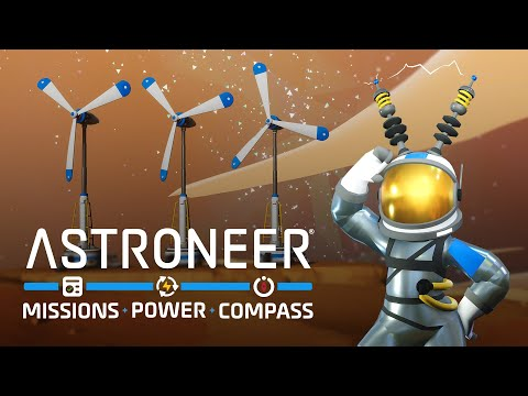 ASTRONEER - Mission - Power - Compass Update Trailer!