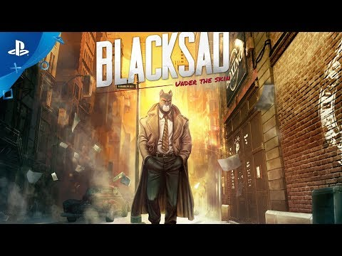 Blacksad: Under the Skin - Story Trailer | PS4