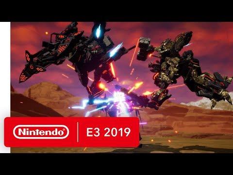 DAEMON X MACHINA - Nintendo Switch Trailer - Nintendo E3 2019