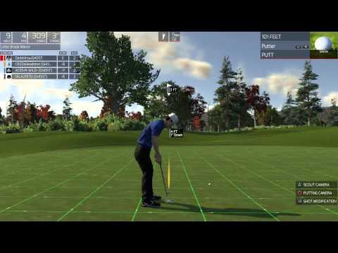 The Golf Club PlayStation 4 Gameplay