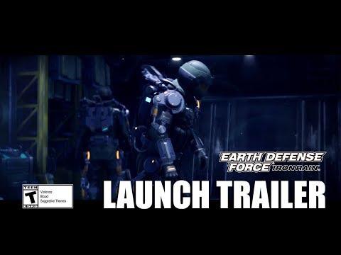 EARTH DEFENSE FORCE: IRON RAIN - Launch Trailer