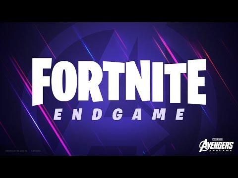 Fortnite X Avengers: Endgame Trailer