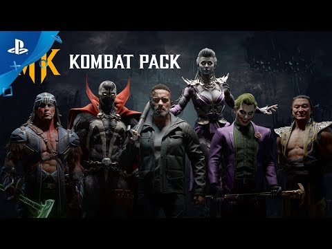 Mortal Kombat 11 | Kombat Pack Roster Reveal Trailer | PS4