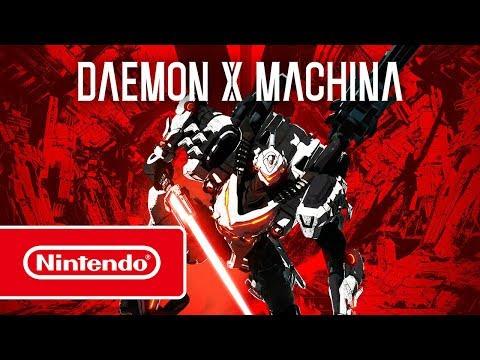 DAEMON X MACHINA – Overview trailer (Nintendo Switch)