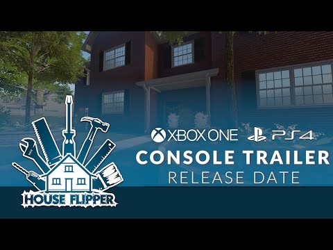 House Flipper - Official Console Release Date Trailer
