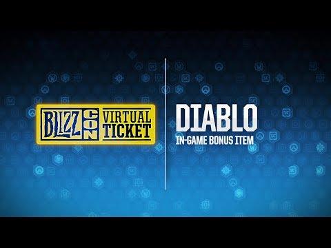 BlizzCon 2018 Virtual Ticket - Diablo: In-Game Item Reveal