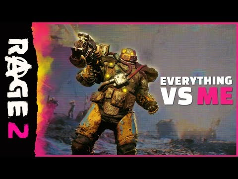 RAGE 2 - Everything vs Me Official Trailer PEGI
