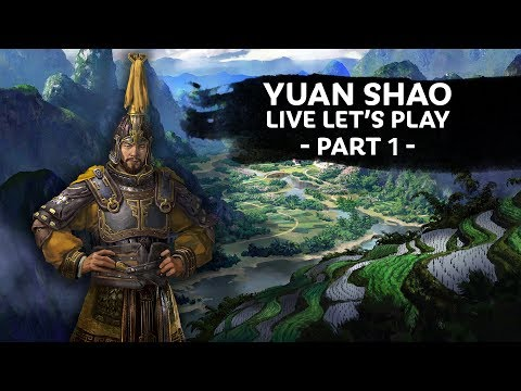 Total War: THREE KINGDOMS - Yan Shao Let's Play