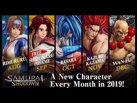 SAMURAI SHODOWN / SAMURAI SPIRITS – DLCキャラクター(Japan/Asia)