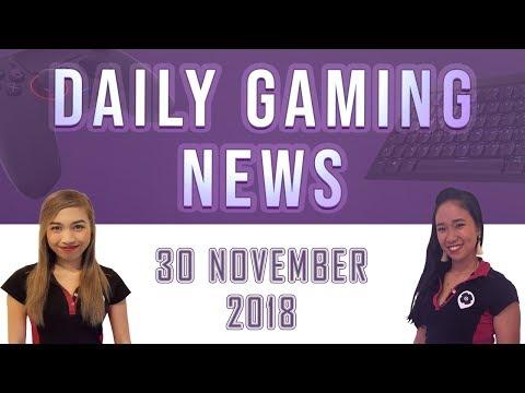 AKS Gaming News / Part 1 : 30/11/2018