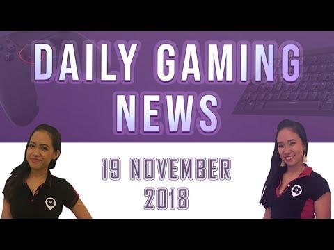 AKS Gaming News / Part 1 : 19/11/2018