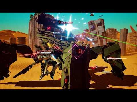 DAEMON X MACHINA - Launch Date Announcement Trailer (Steam)