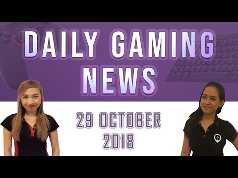 AKS Gaming News / Part 1 : 29/10/2018
