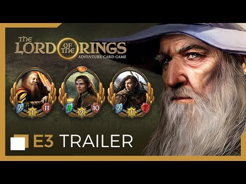 The Lord of the Rings: Adventure Card Game - E3 Launch Trailer