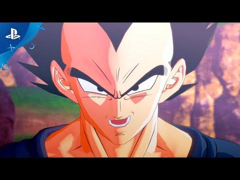 DRAGON BALL Z: KAKAROT - Vegeta Trailer | PS4