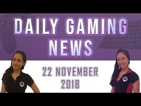 AKS Gaming News / Part 1 : 22/11/2018