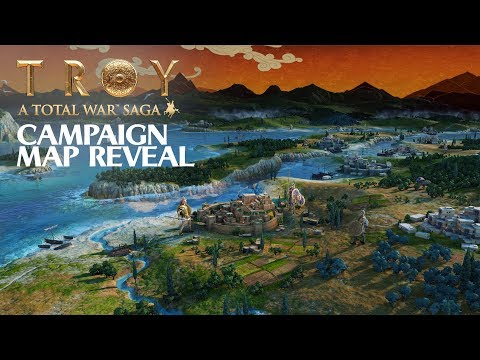 A Total War Saga: TROY / Campaign Map Reveal