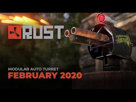 Rust - Modular Auto Turret