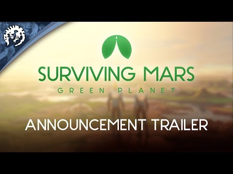 Surviving Mars Green Planet Announcement Trailer