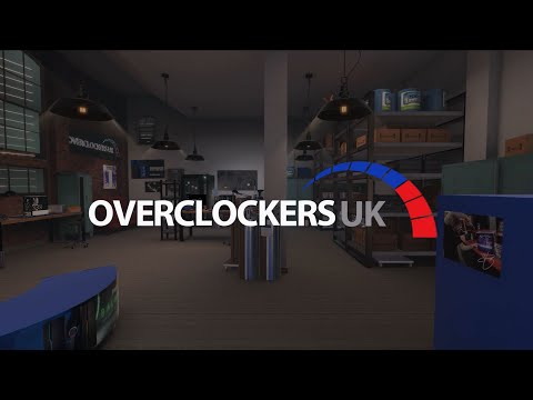 Overclockers UK Workshop DLC trailer – PC Building Simulator