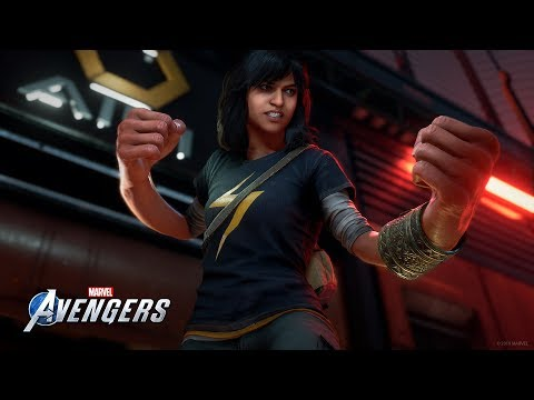 Marvel's Avengers: Kamala Khan Embiggen Trailer - NYCC 2019 [PEGI]