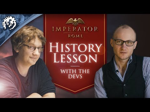 History Lesson with the Imperator: Rome devs