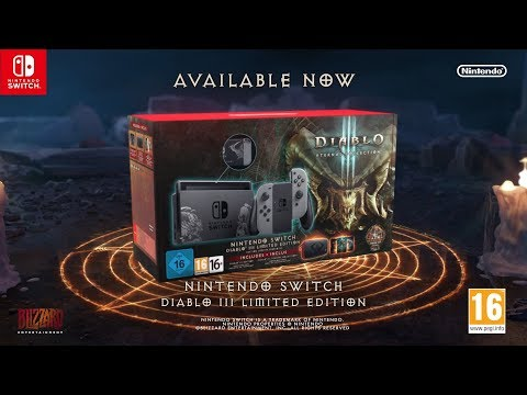 Nintendo Switch Diablo III Limited Edition Now Available - Live Action Trailer (EU)