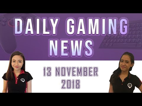AKS Gaming News / Part 1 : 13/11/2018