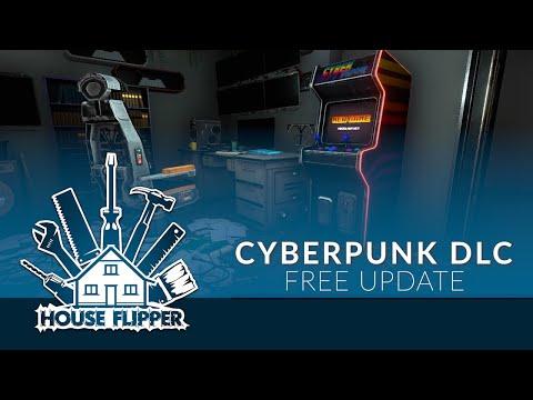 House Flipper - Cyberpunk DLC Teaser