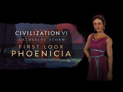 Civilization VI: Gathering Storm - First Look: Phoenicia (INTL)