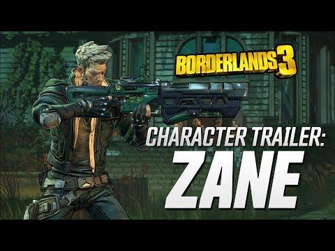 "Borderlands 3 – Zane Character Trailer: ""Friends Like Zane"""