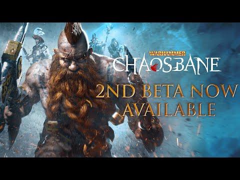 Warhammer: Chaosbane - Beta Launch Trailer #2 [US]