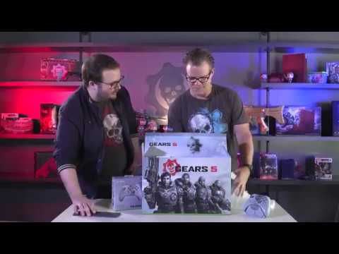 Gears 5 - Limited Edition Xbox One X Unboxing