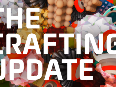 The Crafting Update live!