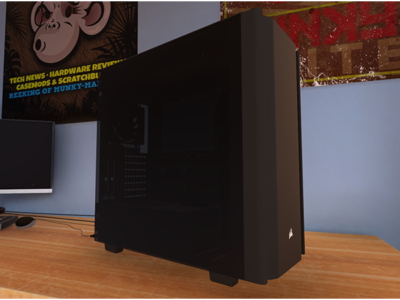 PC Building Simulator Update v0.8.9 – We heard you wanted more CORSAIR?!
