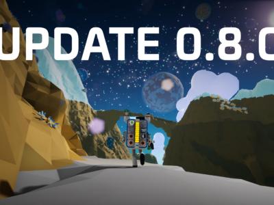 Update 0.8.0 – June 14th, 2018