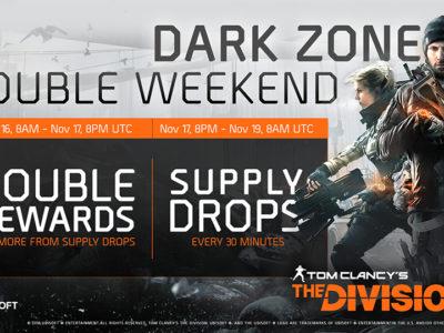 WEEKEND EVENT – DARK ZONE SUPPLY DROPS