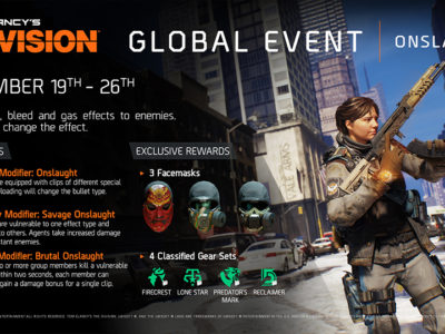 GLOBAL EVENT #6: ONSLAUGHT RETURNS!