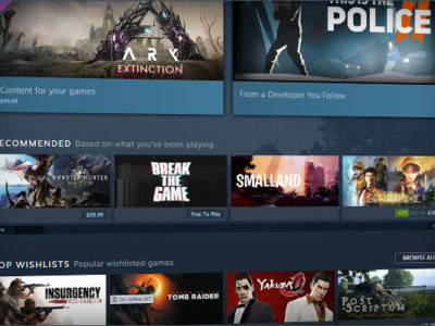 """Improvements to the """"Upcoming"""" tab on Steam"""
